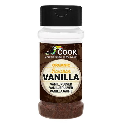 Cook vaniljepulver fra Mecindo