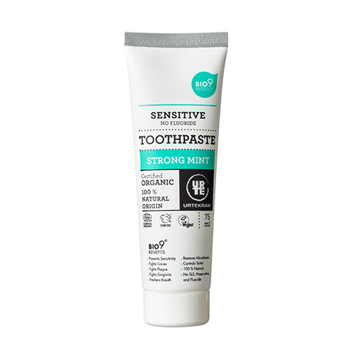 Image of   Urtekram Bio9 tandpasta strong mint - 75 ml