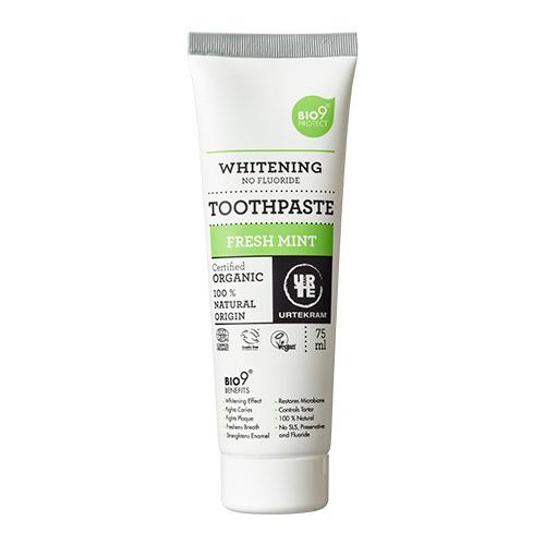 Billede af Urtekram Bio9 tandpasta fresh mint - 75 ml