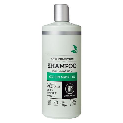 Billede af Urtekram Shampoo Green Matcha - 500 ml