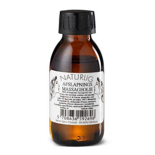 Image of   Naturlig Afslapningsmassageolie - 100 ml