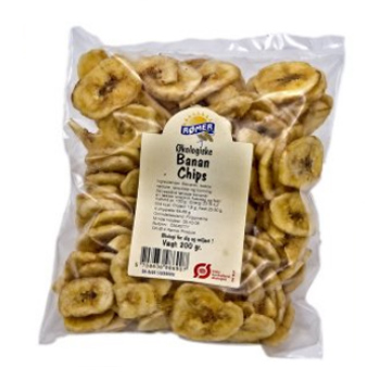 Rømer bananchips fra Mecindo