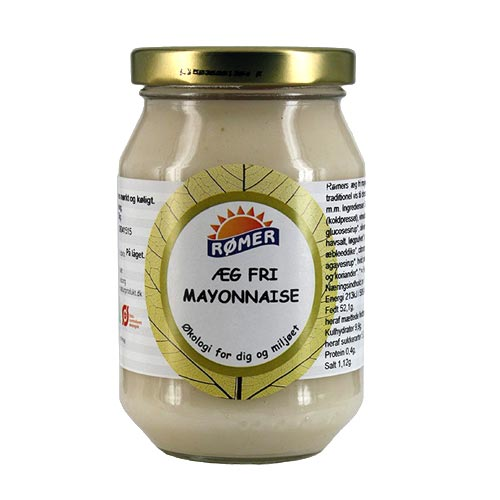 Rømer mayonnaise fra Mecindo