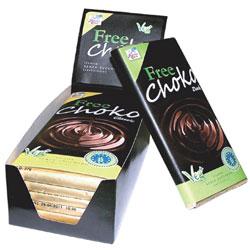 Billede af Finestra Cielo Chokolade mørk Free Choko Ø - 100 G