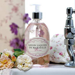 Image of   Savon De Marseille Håndsæbe Flydende Rose Savon Liquide De Marseille - 500 ml