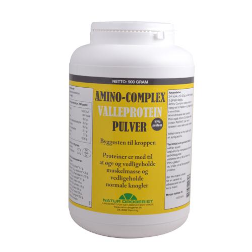 Billede af Natur-Drogeriet Amino-complex 77% Valleprotein - 900 G