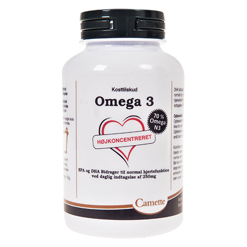 Camette Omega 3 70% Omega N3 - 120 Kaps