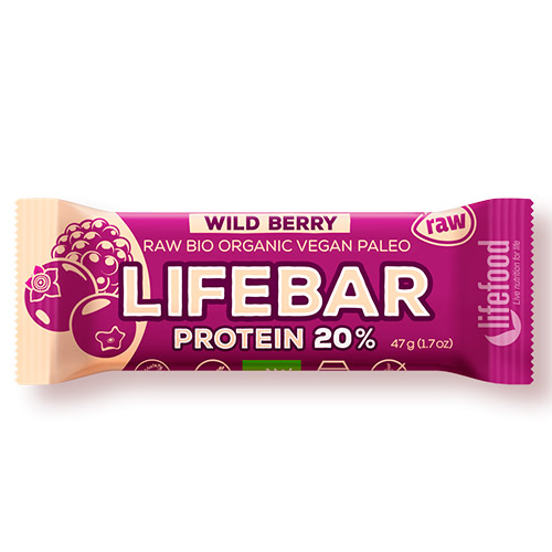 Image of   AbsorBurn Lifebar Wildberry Proteinbar Ø - 47 G