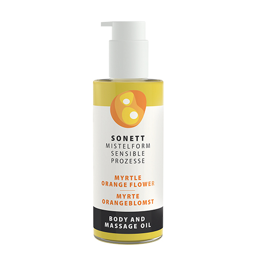 Image of   Sonett Krops & Massageolie Myrte/ Orangeblomst - 145 ml