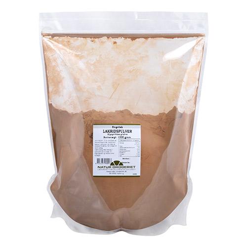 Natur-Drogeriet lakridspulver fra Mecindo
