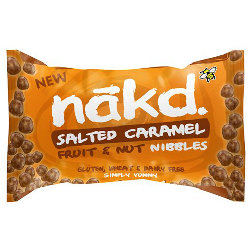 Image of   NÃkd Näkd Salted Caramel Nibbles - 40 G
