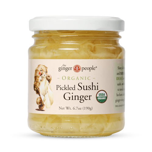 Image of   Ginger Party Ingefær Sushi Ø - 190 G