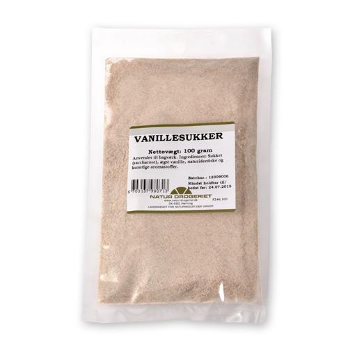 Natur-Drogeriet vaniljesukker fra Mecindo