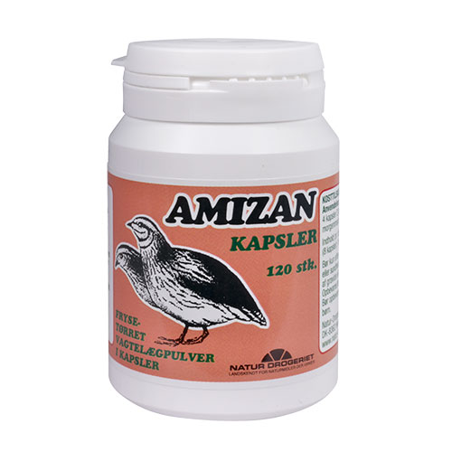 Billede af Natur-Drogeriet Amizan (Vagtelæg) - 120 Kaps