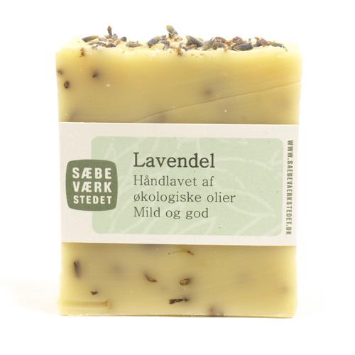 Image of   Sæbeværkstedet Sæbe Lavendel - 100 G