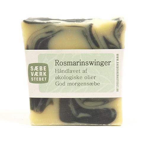 Image of   Sæbeværkstedet Sæbe Rosmarinswinger - 100 G
