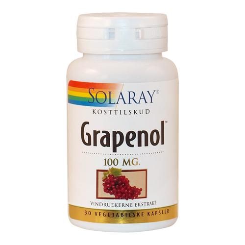 Image of   Solaray Grapenol - 100 mg - 30 Kaps