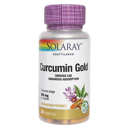 Image of   Solaray Curcumin Gold - 30 Kaps