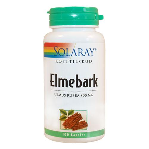 Image of   Solaray Elmebark - 400 mg - 100 Kaps
