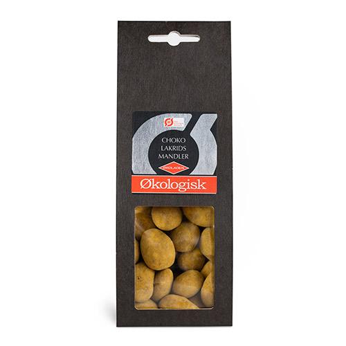 Økoladen Choko Lakrids Mandler - 90 G