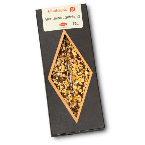 Økoladen Mandelnougatstænger - 75 G