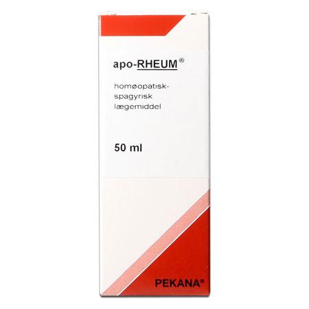 Billede af Pekana Apo rheum - 50 ml