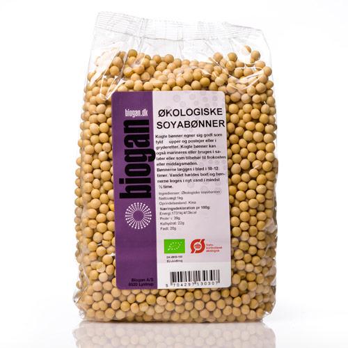 Biogan soyabønner fra Mecindo