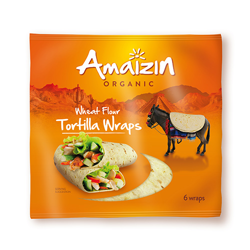 Image of Amaizin Tortilla Wraps 6 Stk Ø - 240 G