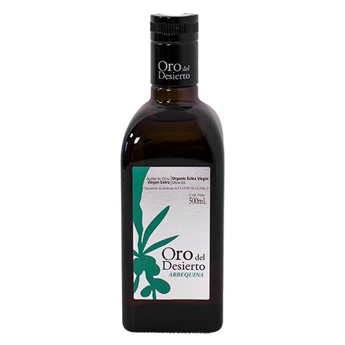 Oro del Desierto olivenolie fra Mecindo