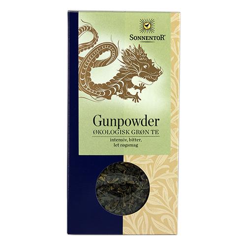 Image of   Sonnentor Kinesisk Grøn Te Gunpowder Ø - 100 G