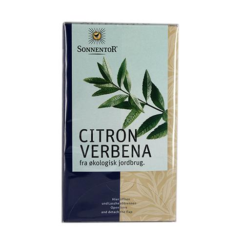 Image of   Sonnentor Citron Verbena Te Ø - 20 Brev