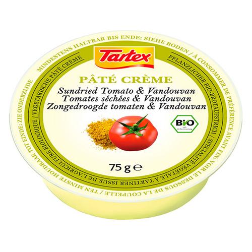 Billede af Tartex Patè Creme Soltørret Tomat Ø - 75 G