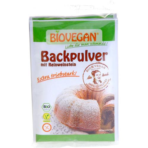 Image of   Bagepulver Med Vinsten Økologisk Og Glutenfri 4*17g - 68 G