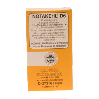 Image of   Sanum-Kehlbeck Notakehl Stikpiller - 10 stk