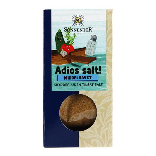 Image of   Sonnentor Krydderiblanding Middelhavet Ø Adios Salt! - 55 G