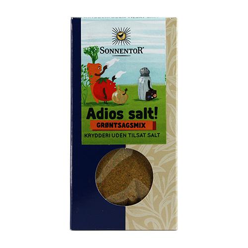 Image of   Sonnentor Krydderiblanding Grønsagsmix Ø Adios Salt! - 60 G