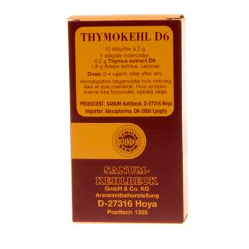 Image of   Sanum-Kehlbeck Thymokehl D6 Stikpiller - 10 stk