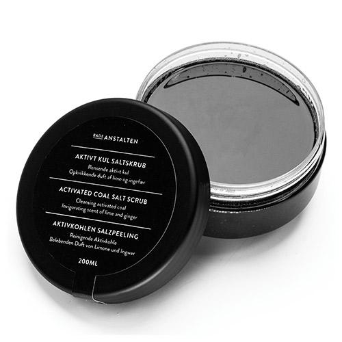 Image of Badeanstalten Bodyscrub - Aktivt Kul - 200 ml