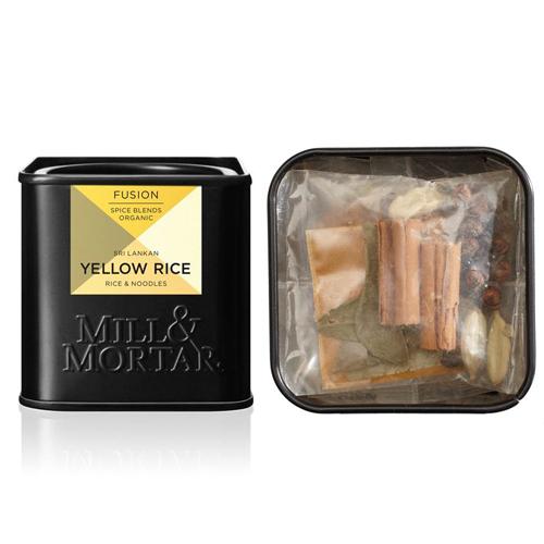 Billede af Mill & Mortar Yellow Rice Krydderiblanding Ø - 15 G