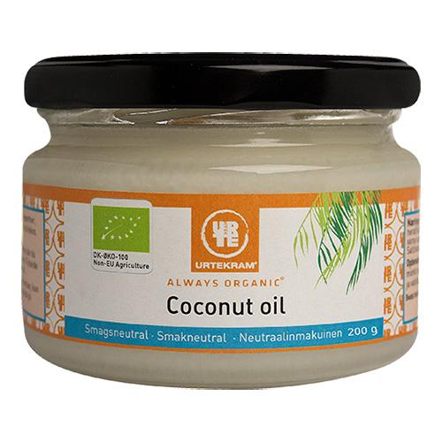 Urtekram Coconut oil smagsneutral Ø - 217 ml