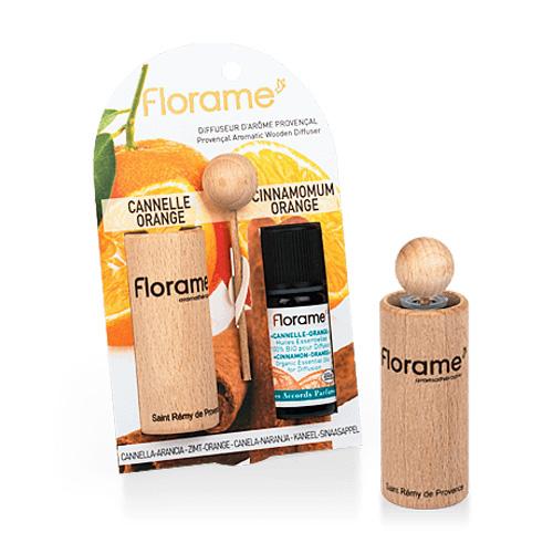Image of   Florame Aroma.Wooden Diffuser Cinnamon Orange - 1 Pakk