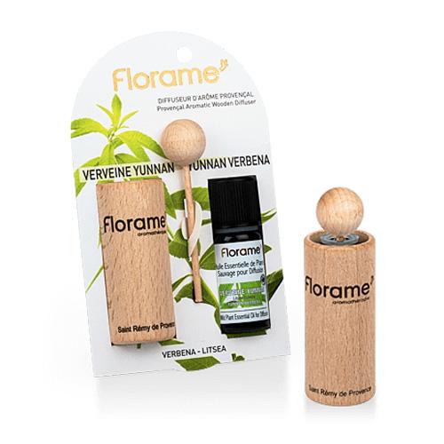 Image of   Florame Aroma. Wooden Diffuser Verbena - 1 Pakk