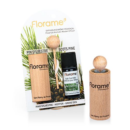 Image of   Florame Aromatic Wooden Diffuser Scots Pine - 1 Pakk