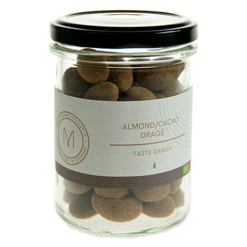 Billede af Mols Organic Dragé Almond/cacao Ø - 100 G