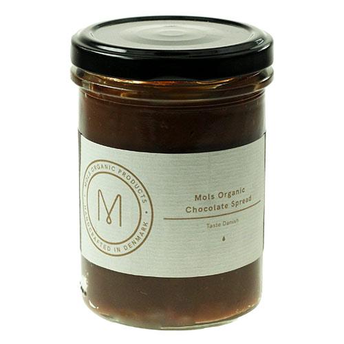 Billede af Mols Organic Smørepålæg Chokolade Ø - 200 G