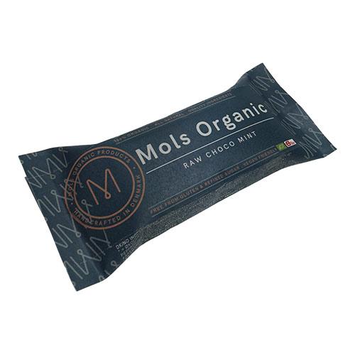 Billede af Mols Organic Raw Bar Choko Mint Ø - 42 G