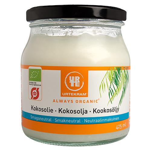 Urtekram Coconut oil smagsneutral Ø - 425 ml