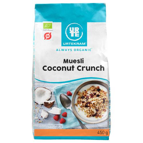 Urtekram Mysli coconut crunch Ø - 450 G