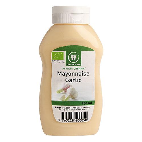 Urtekram Mayonnaise hvidløg Ø - 250 ml