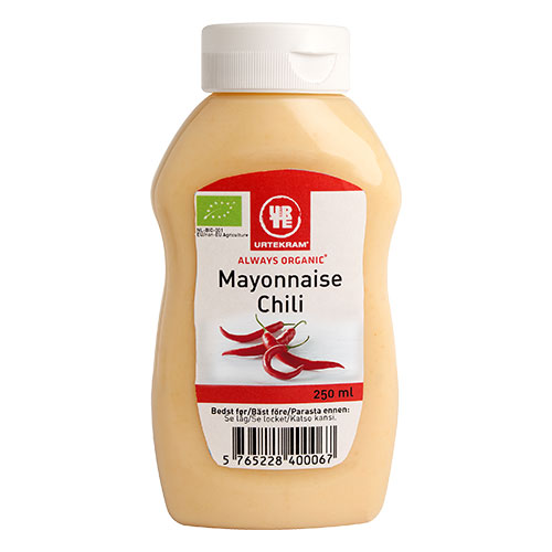 Urtekram Mayonnaise chili Ø - 250 ml